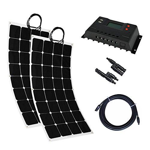 biegbares Solarpanel